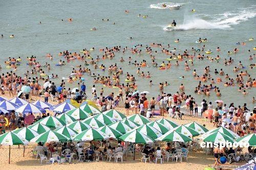 连云港海滨浴场